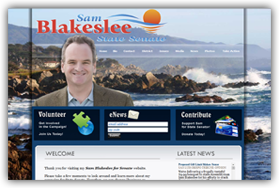 Check out the Sam Blakeslee for Senate website!