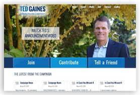 Ted Gaines for Insurance Commissioner